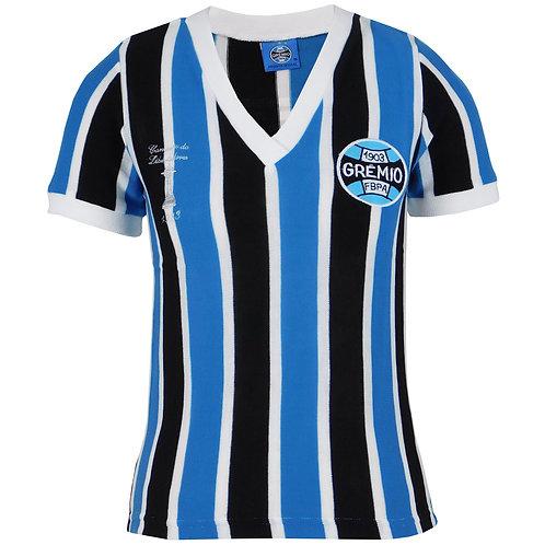 R.GLIBF Baby Look Grêmio Retrô Libertadores Tricolor