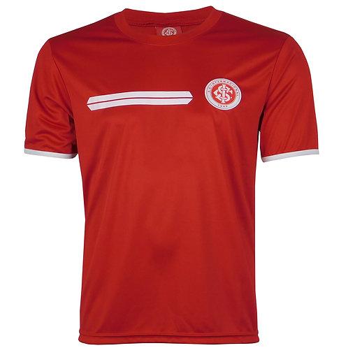 R.INT461 Camisa do Internacional Masculina Inter Vermelha Em Dry Licenciada
