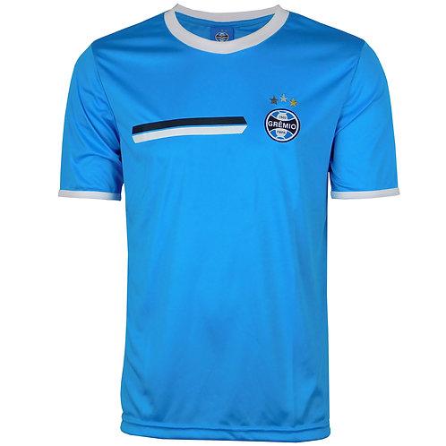 R.G602 Camisa do Grêmio Masculina em Dry Azul Claro Licenciada