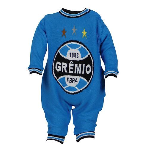 R. G556B Tip Top Do Grêmio Para Bebê Azul Roupa Para Recém Nascido
