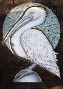 Bleeding Heart Pelican