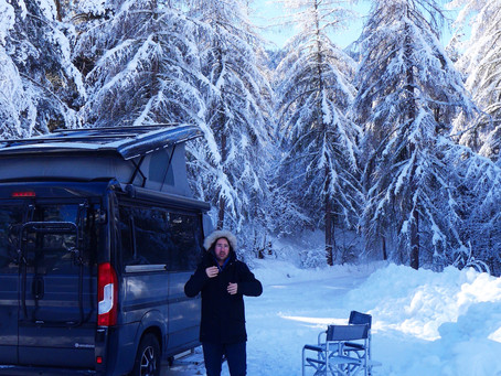 Wintercamping Engadin