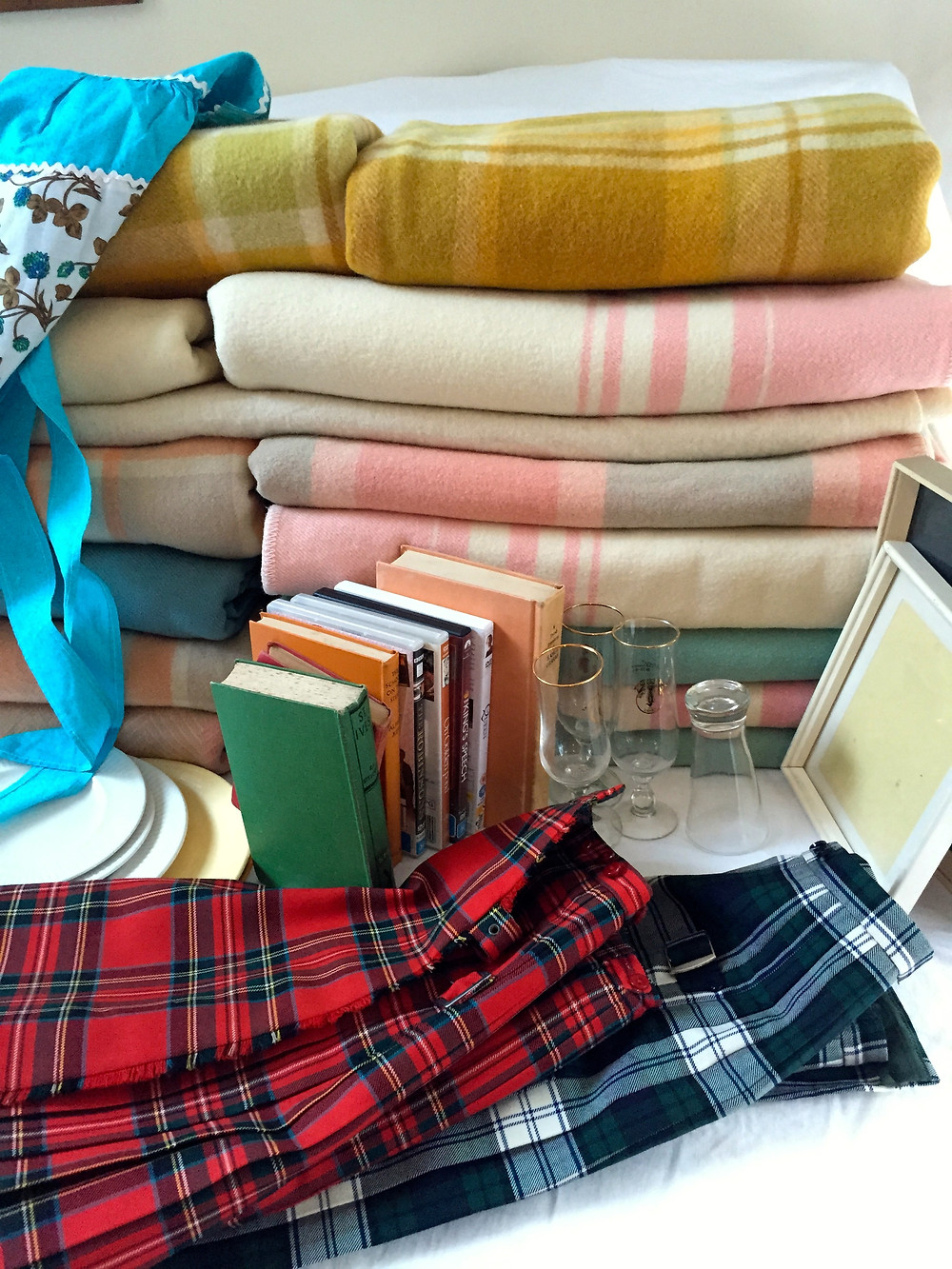 Thank you Bright for 5 Blankets for $5 and 3 lovely elderly ladies with their blanket stories!