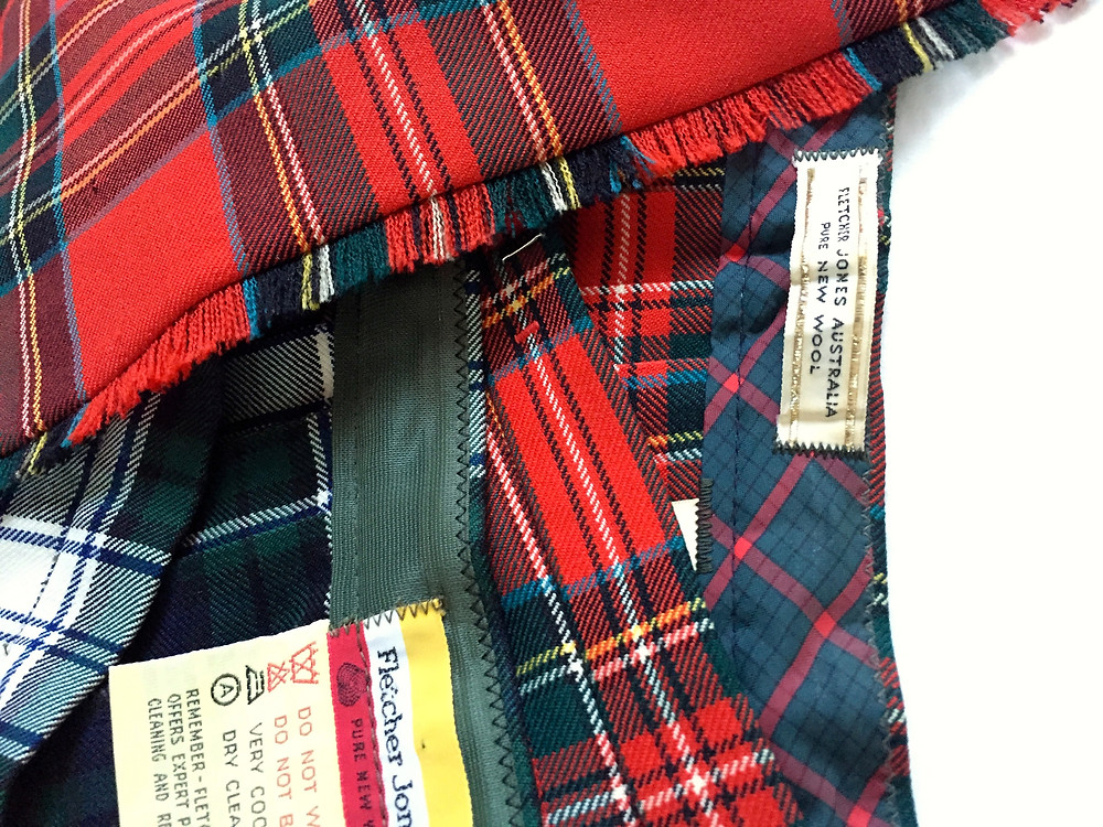THE BEAUTY: More Fletcher Jones kilts for my collection.