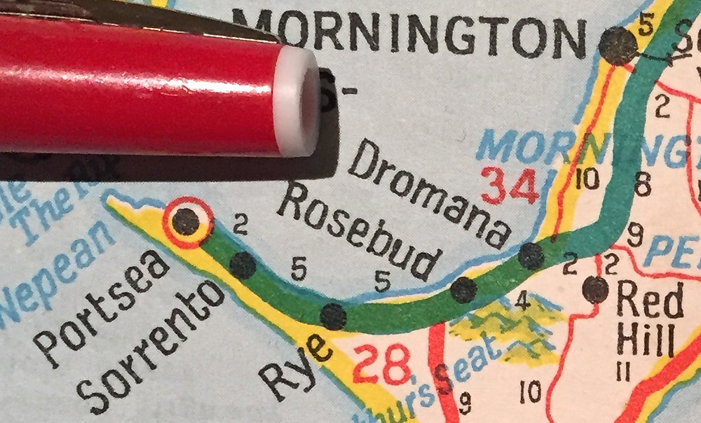 MORNINGTON, DROMANA, ROSEBUD, RYE, SORRENTO, BLAIRGOWRIE, RED HILL