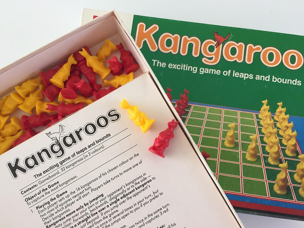 THE BEAUTY: KANGAROO BOARD CHESS-ISH BOARD GAME