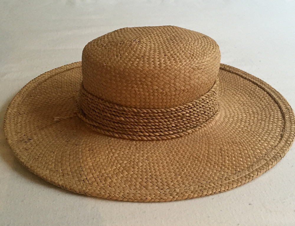 CAN'T HAVE TOO MANY OF THESE IN SUMMER.  MADE IN ITALY, BOUGHT IN ALEXANDRA FOR $1.