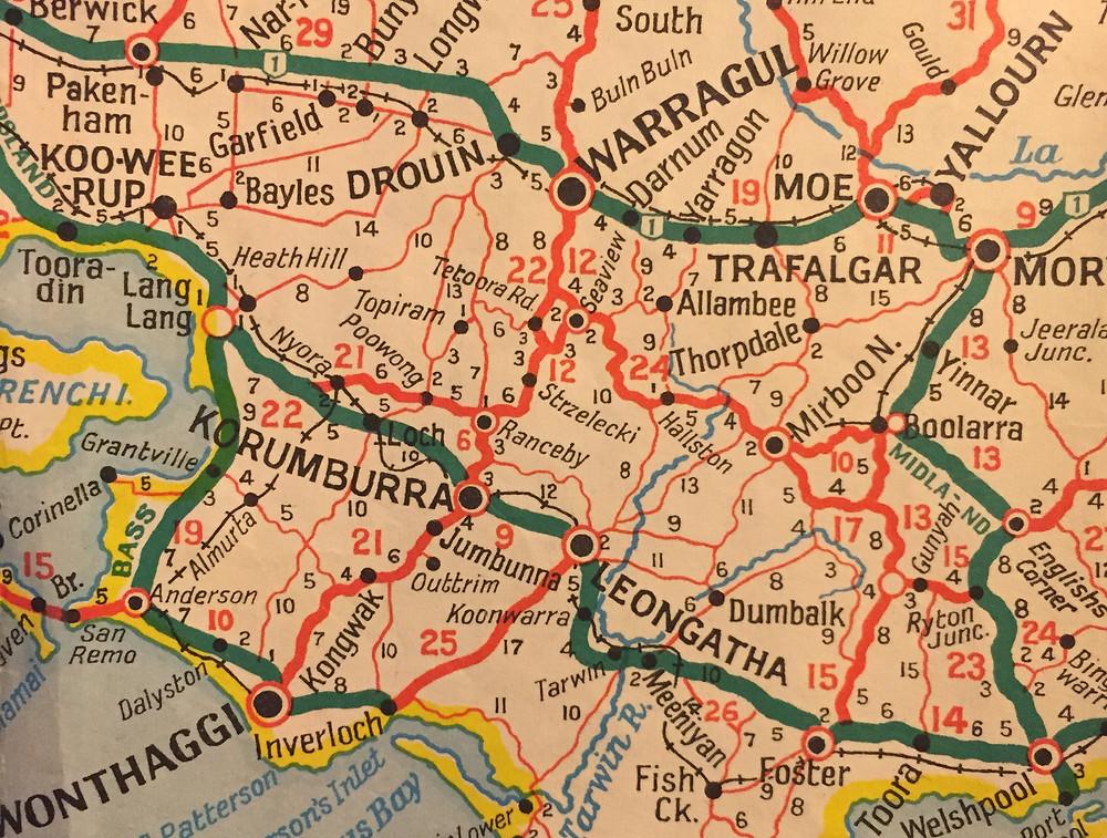 WONTHAGGI, INVERLOCH, KORUMBURRA, CHURCHILL, YALLOURN NORTH
