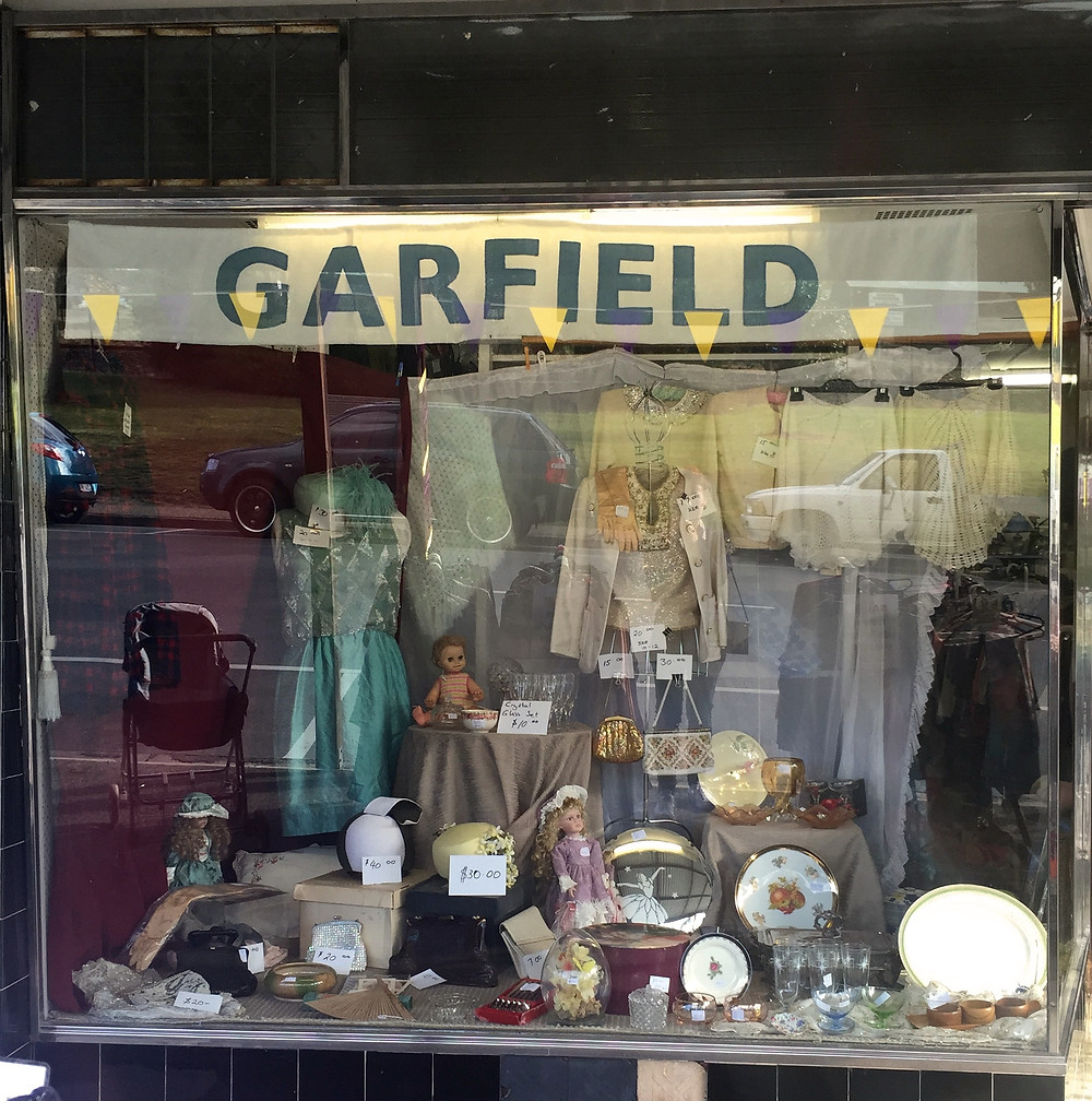 THE BONUS:  SOME OP SHOPS ARE MORE DELIGHTFUL THAN OTHERS.  THE GARFIELD COMMUNITY SHOP AND STAFF WERE EXACTLY THAT.