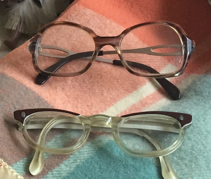 THE BEAUTY: 1970S DIANA PRINCE GLASSES & 50'S GLASSES