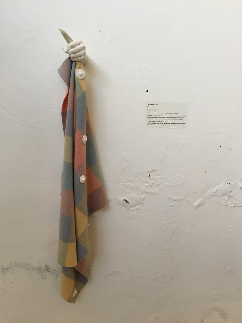 ONE OF MY FAVOURITE PIECES, 'SECURITY BLANKET' BY GRACE MARLOW