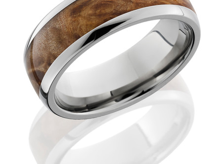 Selecting Men's Engagement Rings –  From Wood to Metal