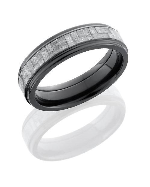 Zirconium Men's Ring