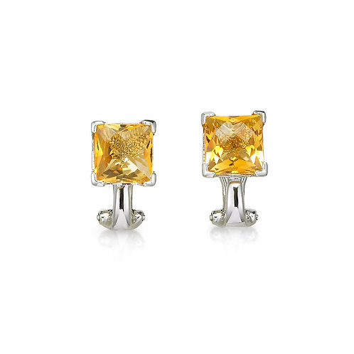 """Tangeleria"" Citrine Earrings"