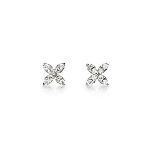 """""""Starburst"""" Diamond Earrings"""