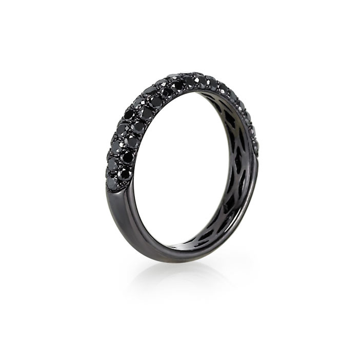 Black Diamond Engagement Rings - Carats & Stones