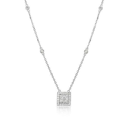 """""""Illuminations"""" Diamond Necklace"""