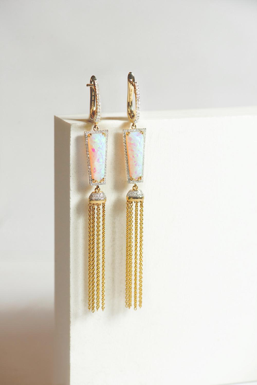"""""""Livia"""" Earrings"""