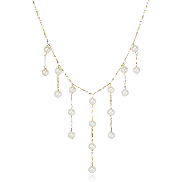"""""""Kaitlyn"""" Pearl Necklace"""