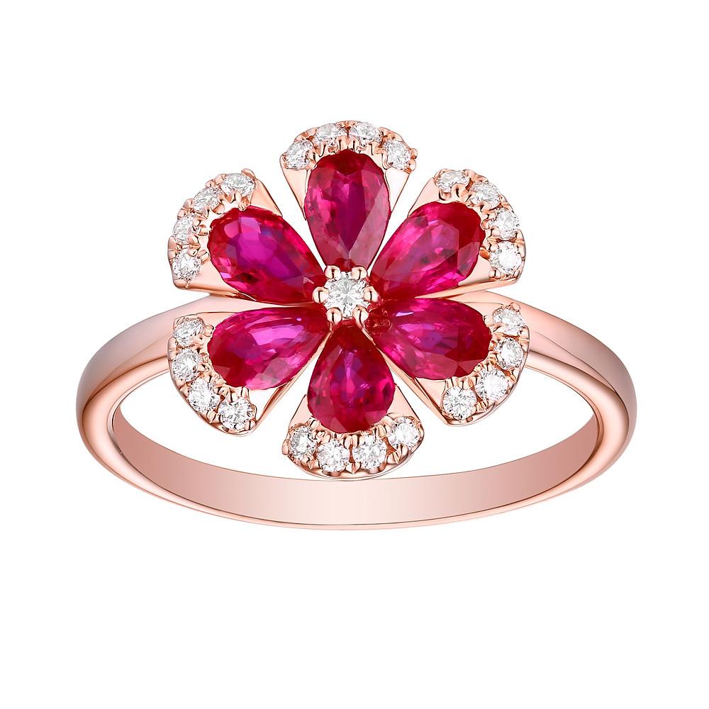"""Rosaline"" Ring - Carats & Stones"