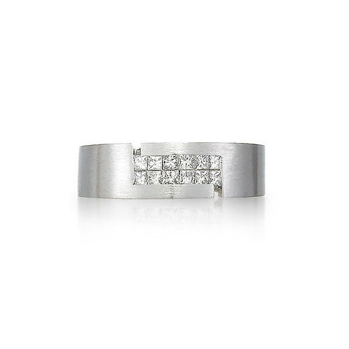 """Atlas"" Diamond Band"