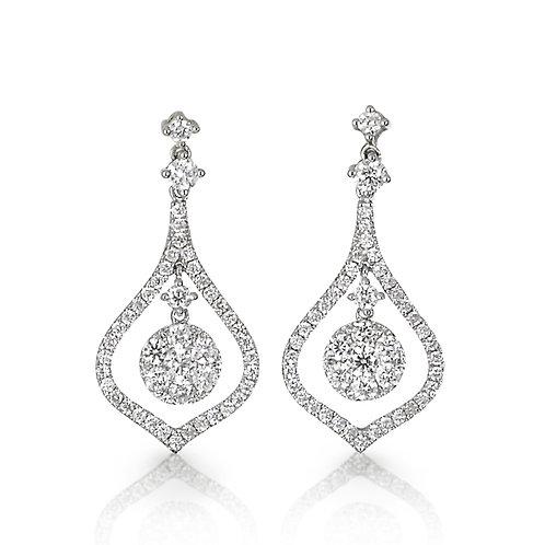 """Circacienta"" Diamond Earrings"