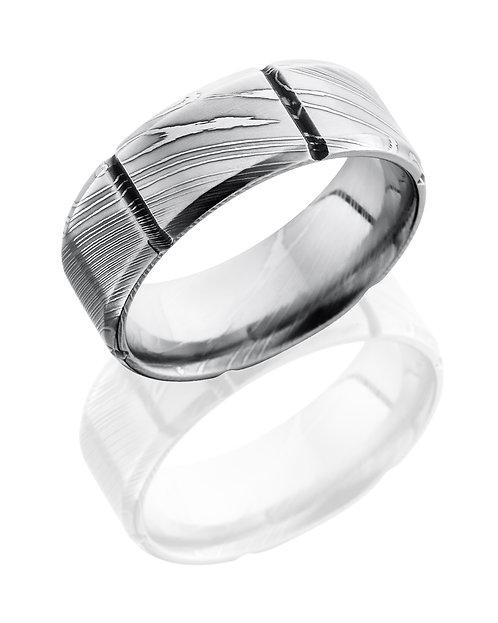 Damascus Men's Ring