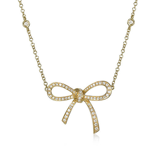 """""""Lulu"""" Diamond Necklace"""