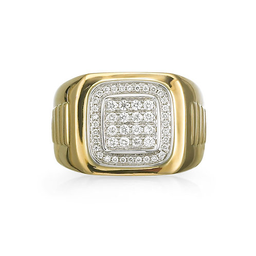 """Prospero"" Men's Diamond Ring"