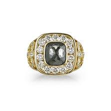 orion black diamond ring