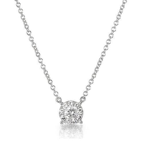 """Reflections"" Diamond Necklace"