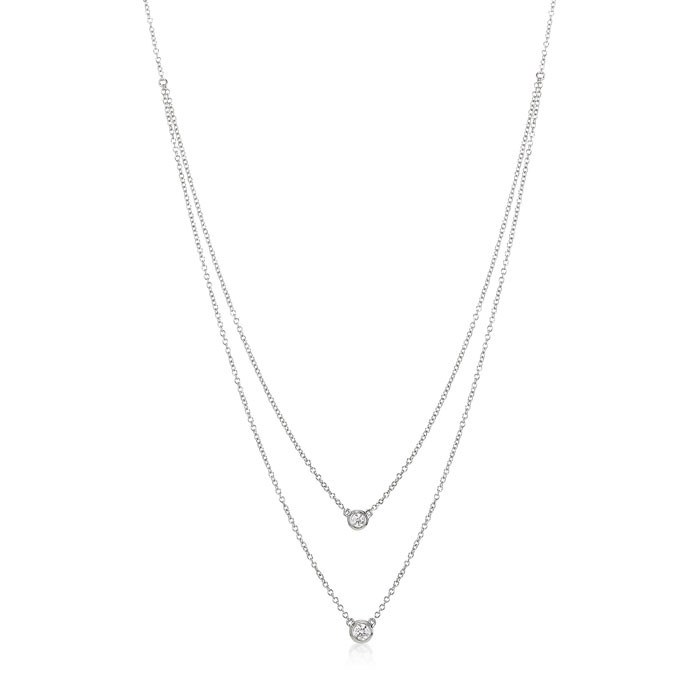 """Gemini"" Diamond Necklace"