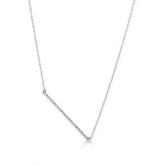 """the Trapeze"" Diamond Necklace"