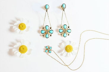 flora earrings