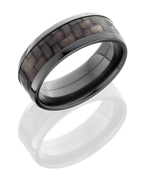 Zirconium Men's Ring