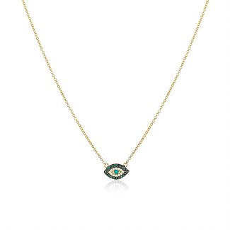 """Cleo"" Lucky Eye Necklace"