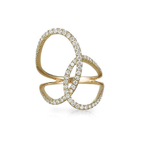 """""""Rosamonde"""" Right Hand Ring"""