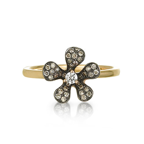 """ Diamond Daisy"" Ring"