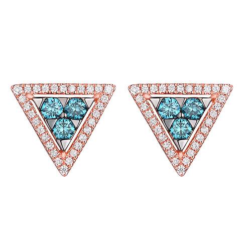 """""""Trillione Blu"""" Earrings"""