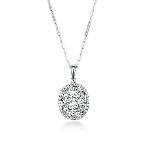"""Simple Brilliance"" Diamond Pendant"