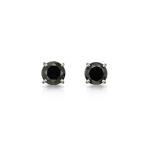 """""""Dusky Diamond"""" Stud Earrings"""