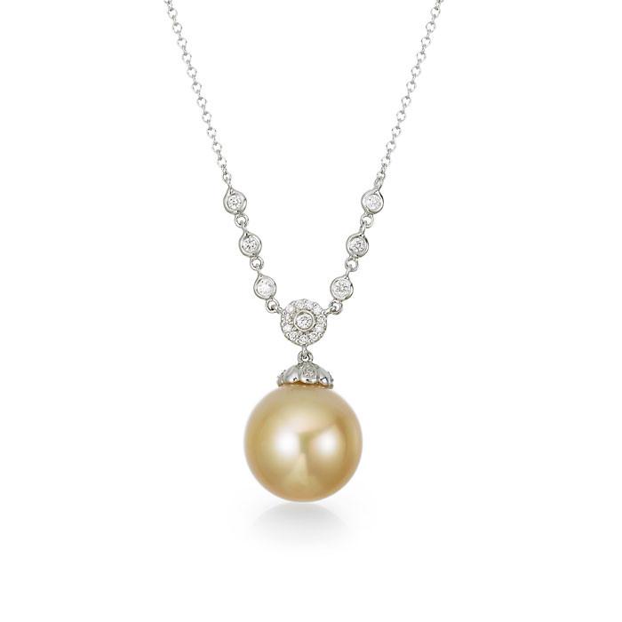 """""""Ocarina"""" Pearl Necklace - Carats & Stones"""