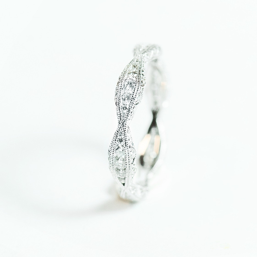"""Liza"" Eternity Band"