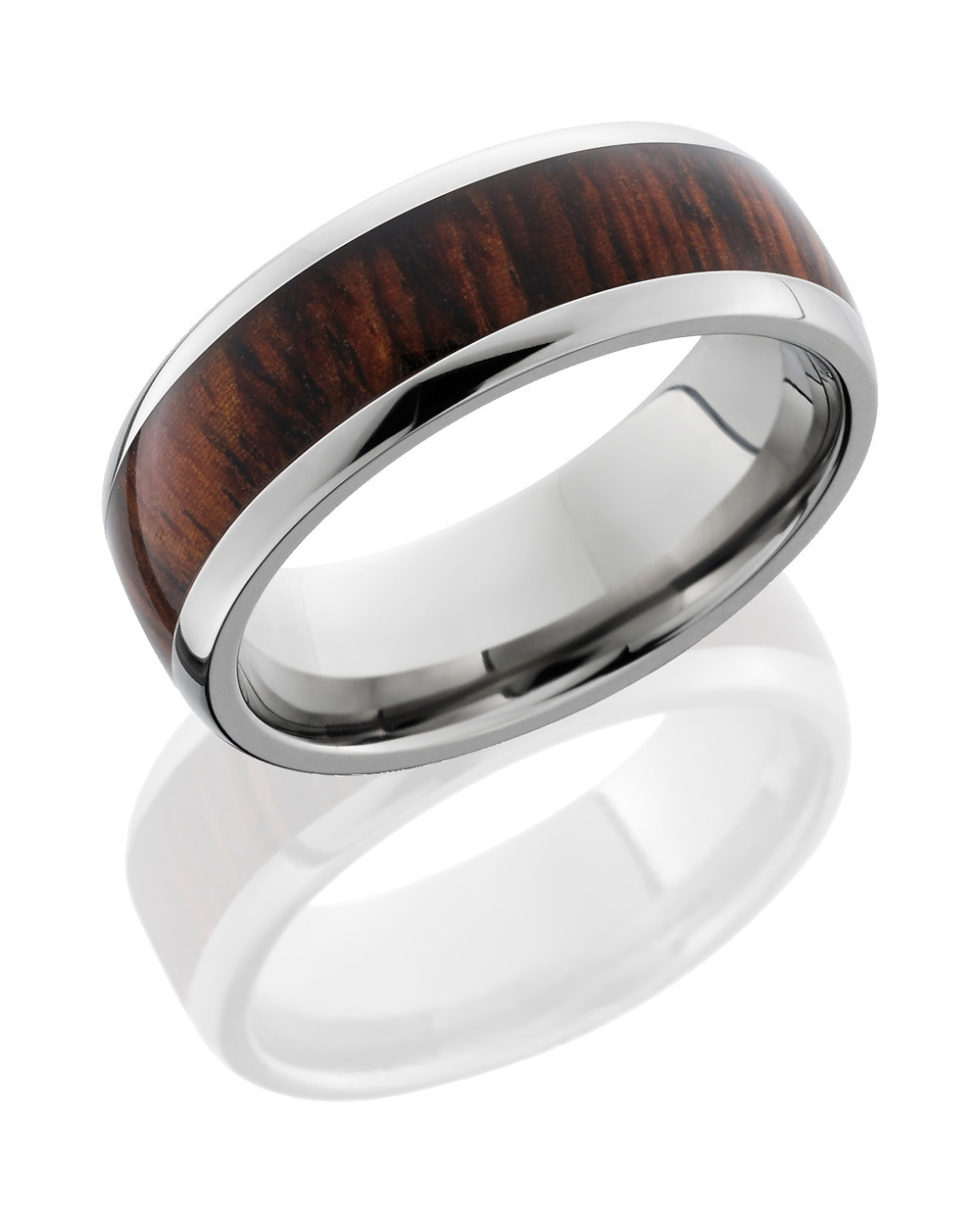 Handwood Ring - Carats & Stones
