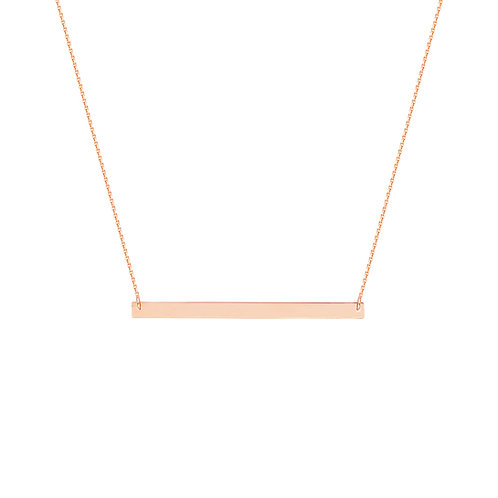 """For You"" Bar Necklace"