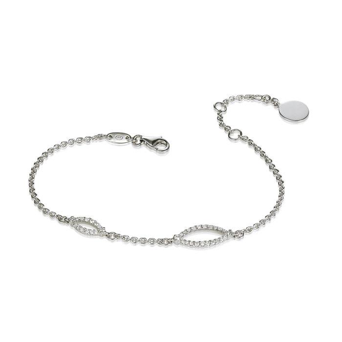 """Nubia"" Diamond Bracelet - Carats & Stones"