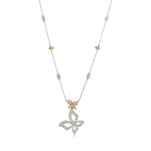 """Reverie"" Diamond Necklace"