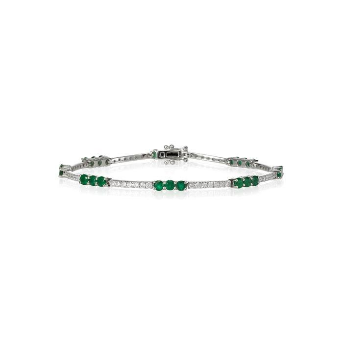 Emerald Bracelet - Carats & Stones