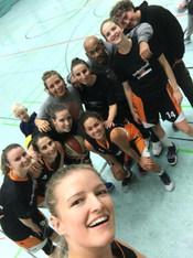 Damen I beim Auswärtsspiel in Stuttgart
