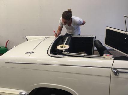 Autokap voor een coupé